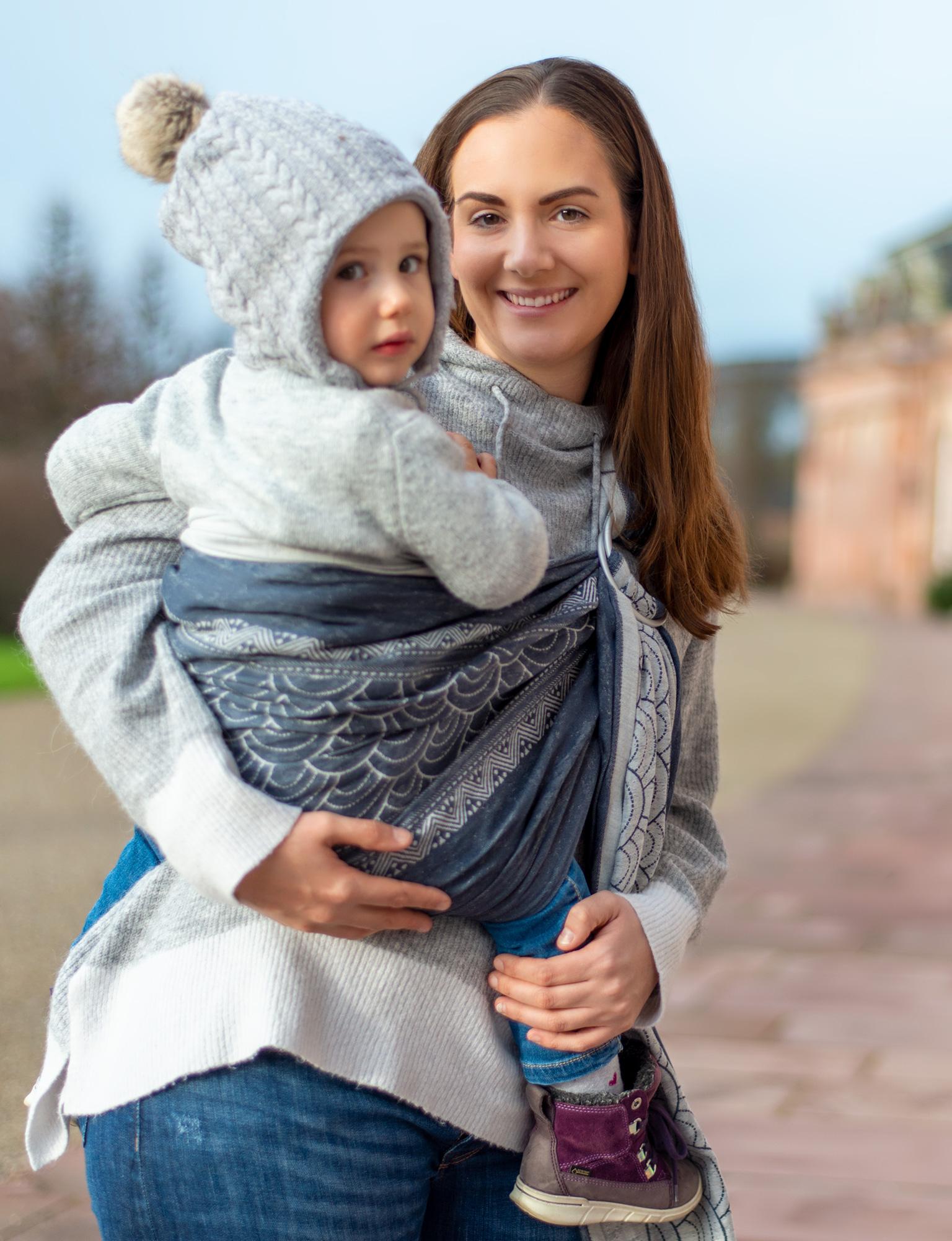 Trageberatung mit Kleinkind